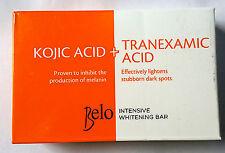 Original Belo Intensive skin Whitening Soap with Kojic acid and Tranexamic Acid