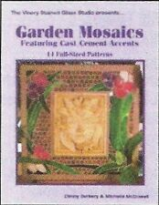 Stained Glass Pattern Book - GARDEN MOSAICS