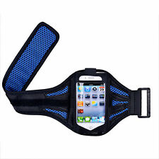 "iPhone 6 4.7"" Dark Blue Mesh Running, Jogging, Cycling Armband Mobile Cover Case"