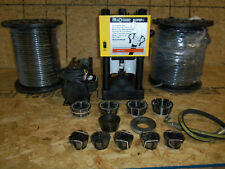Hydraulic Hose Crimper Machine W/ Pump Weatherhead T-420 & (2) Reels Of Hose