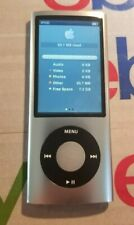 Apple iPod nano 5th Generation Silver (8 GB) TESTED AND WORKING