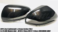 Mercedes-Benz C63 AMG 100% de Fibre de Carbone Véritable Miroir Couvre W205/W222 2015+ ans
