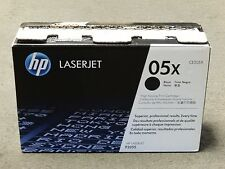 HP CE505X 05X Black Toner Cartridge LaserJet P2055 Genuine New Open Box