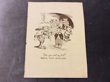 Vintage Book Print - Did You Pull My Tail? - Dorothy Wall - 1950