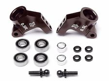 HPI Blitz E-Firestorm Firestorm Aluminum Rear Hub Carrier Set Brown ESE 104898