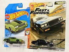 2020 Hot Wheels Premium Fast Furious Motor City Buick Grand National and Monte