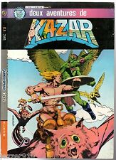 ALBUM KA-ZAR KAZAR n°1 ¤ avec n°1-2 ¤ 1982 ARTIMA COLOR