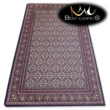 NATURAL WOOL AGNELLA RUGS black frames thick and durable carpet