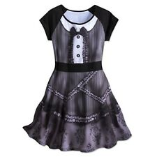 Disney XL Haunted Mansion Maid Lolita Ghost Cosplay Dress Halloween Costume