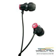 Brainwavz Delta Black IEM In Ear Earbuds Noise Isolating Earphones Remote Apple
