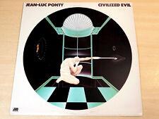 EX/EX- !! Jean Luc Ponty/Civilized Evil/1980 Atlantic LP