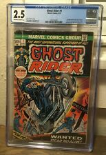Ghost Rider 1 CGC 2.5 - Classic Cover - OW/W pages - 1st appearance Son of Satan
