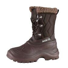 Fashionable Mik-5 Ladies Thermal Boots Braun Breathable Warm Padding