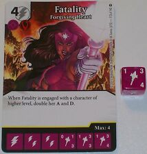 FATALITY FORGIVING HEART 113/142 War Of Light Dice Masters DC