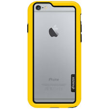AMZER PROTECTIVE BUMPER BORDER CASE COVER FOR APPLE IPHONE 6 YELLOW