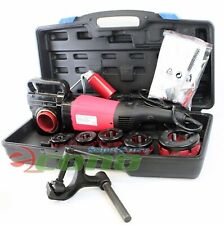 """2000W Portable Electric Pipe Threader With 6 Dies Threading Machine 1/2 to 2 """""""