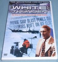 White Thunder: The Story of Varick Frissell, The Milestone Collection DVD, Rare