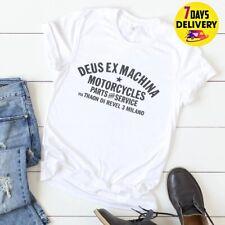 Deus Ex Machina T Shirt White Size S-3XL