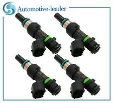 4pcs Fuel injectors 16600-ED000 For Nissan Versa 2008-2011 1.6L HR16DE