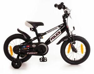 14 Zoll Kinder Jungen Polizei Police Fahrrad Kinderfahrrad Kinderrad Rad Bike