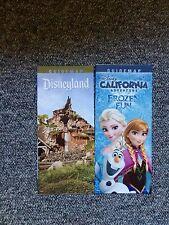 Disneyland / DCA California Adventure April 2015 Park Maps and Guide
