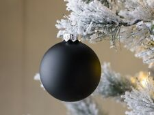 Bola de Navidad Linda Negro Mateada Decoración Tannenbaumschmuck Weihnach