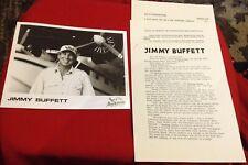 JIMMY BUFFETT RARE 1992 ORIGINAL Margaritaville PRESS KIT PHOTO Box Set Boats