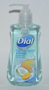 1 DIAL COCONUT WATER MANGO HYDRATING LIQUID HAND SOAP WASH 7.5OZ PUMP