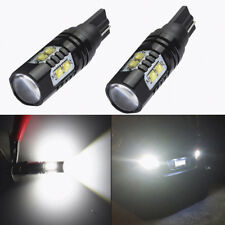 2X 50W 921 912 T10 T15 LED 6000K HID White Car Backup Reverse Lights Bulb 12-24V