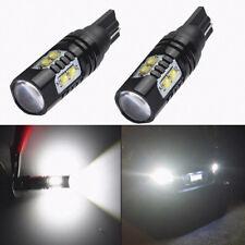 2X 50W 921 912 T10 T15 LED 6000K HID White Car Backup Reverse Lights Bulb 12-24V