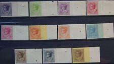 MONACO 1924 78-88 U Fürst Louis II Freimarken Definitives non dentele MNH