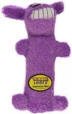 Multipet International Original Loofa Dog Mini 6-Inch Dog Toy (Assorted Colors)