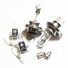 Peugeot 205 MK2 H4 H3 T4W 55w Clear Xenon HID High/Low/Fog/Side Headlight Bulbs