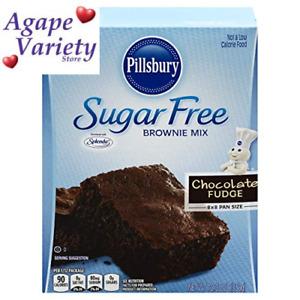 Pillsbury Sugar Free Fudge Brownie Mix, chocolate, 12.35 Ounce (Pack of 1)