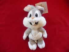 "NEW!! Warner Brothers Baby Looney Tunes BABY BUGS 9"" BEAN BAG, NWT!!!"