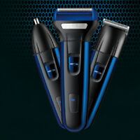 Men Electric Shaver Razor Beard Trimmer Hair Shaving Machine Rechargeable Kit US