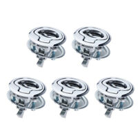 5x Marine Stainless Steel 316 Flush Pull Hatch Latch 45mm Boat Yacht