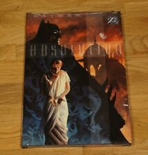BATMAN: Absolution (2003, Hardcover) 1st Print sealed and new