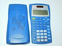 Texas Instruments TI-34 II Solar / Scientific Calculator Algebra/SAT/ACT Blue
