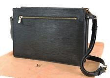 Authentic LOUIS VUITTON Enghien Black Epi Leather Shoulder Bag Purse #34323