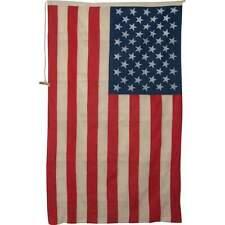 More details for vintage united states linen flag 100 x 60cm