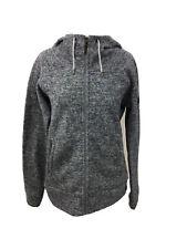 Berghaus Ladies Full Zip Hoodie Fleece Grey Size UK 14