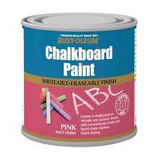 Rust-Oleum Tableau à craie Peinture Rose MAT 250ml Jouet sécurité séchage rapide