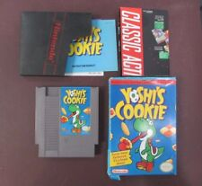 Yoshi's Cookie (Nintendo NES, 1993) w/ Box, Manual, And Poster!