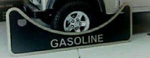 Land Rover Series 2a 3 Gasoline Petrol USA Fuel Filler Neck Warning Badge 502951