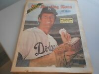 June 22, 1974 issue of The Sporting News Newspaper Tommy John front cover