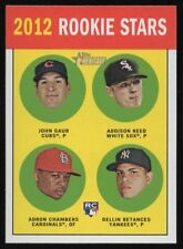 2012 TOPPS HERITAGE #54A GAUB / ADDISON REED / CHAMBERS / DELLIN BETANCES – RC