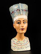 Small Nofretete Bust - Egypt Pharaoh Decode Sculpture