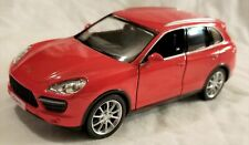 "RMZ City - 5"" Scale Model Porsche Cayenne Turbo Red (BBUF555014R)"