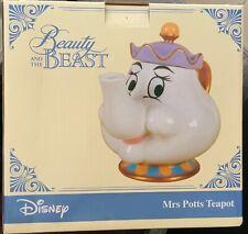 Mrs Potts teapot - Beauty and the Beast - porcelain teapot - BNIB